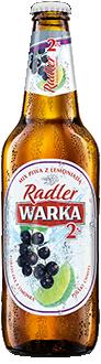 Warka Radler 2% Czarna Porzeczka z Limonką