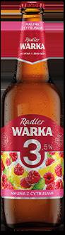 Warka Radler 3,5% Malina z Cytrusami